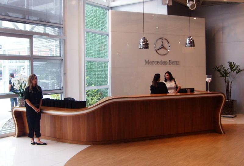 Recepção Mercedes Benz