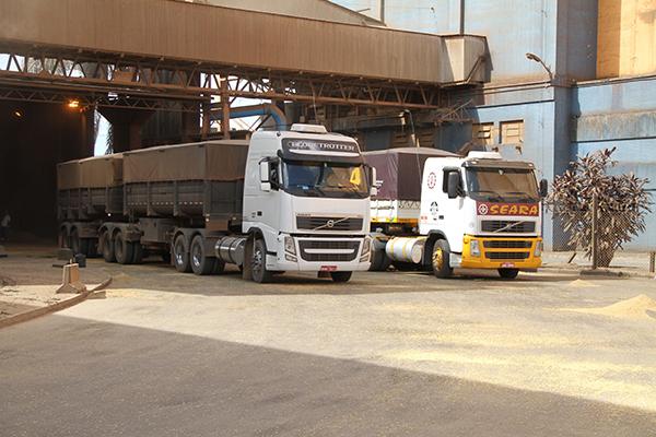 Porto receberá sistema de rastreamento e controle de caminhões e cargas. Paranaguá, 27/11/2015. Foto: Pedro de Souza Lima Brodbeck.