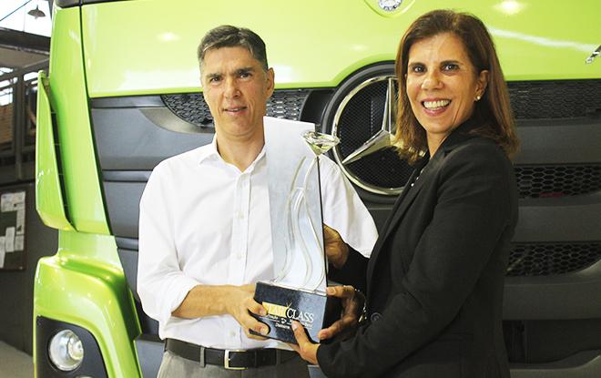 Diretores executivos do concessionário Araguaia são reconhecidos como Diamante no Programa StarClass. Foto: Murilo de Abreu