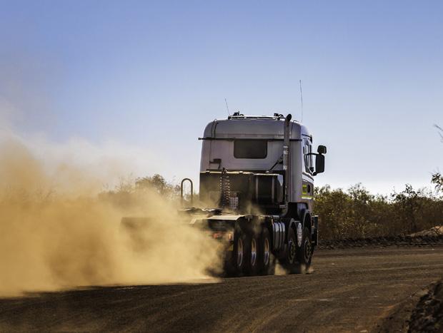 Scania R730 10x8 - Qube Bulk Port, Hedland