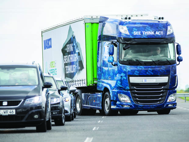 ZF, Innovations-Truck, EMA, Evasive Maneuver Assist