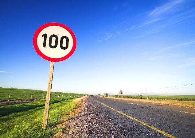 novos limites de velocidade