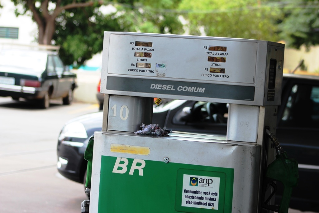 queda no preço do diesel
