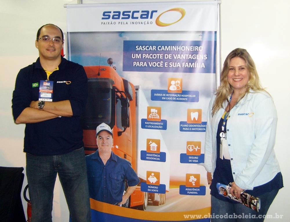 Weber e Patricia falam do novo produto da Sascar