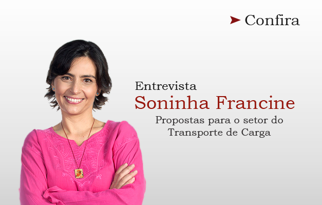 Candidata Soninha Francine fala das suas propostas para o setor do transporte de cargas
