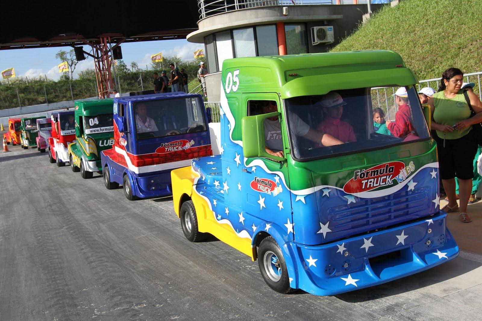 F-Truck: etapa de Guaporé começa com Truck Kids no Dia da Criança