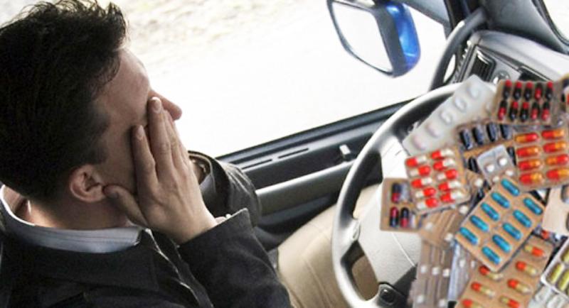 Estrada, drogas e sono: uma combinação perigosa e irresponsável!