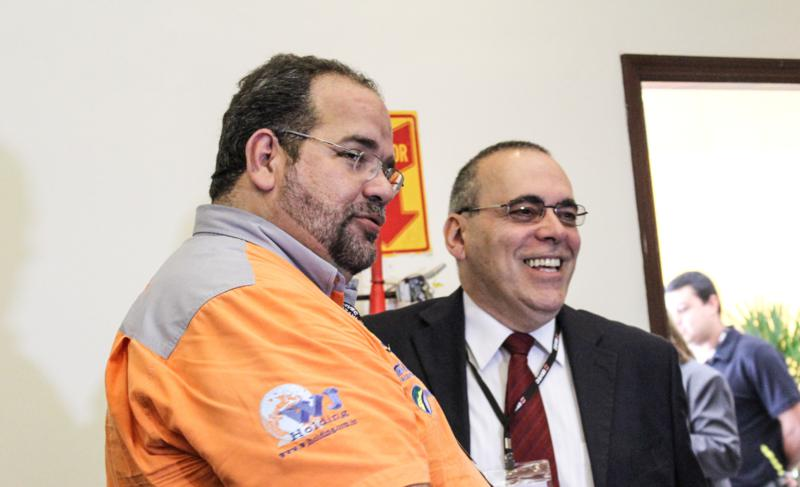 Chico da Boleia e Roberto Videira na 2ª Convenção da Sirvec