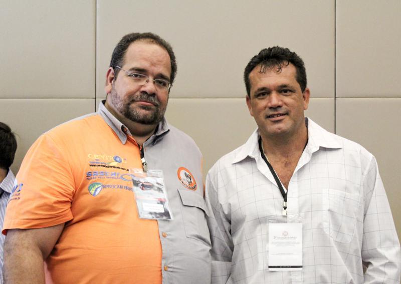 Chico da Boleia e  José Virgílio dos Santos Presidente da ACAV
