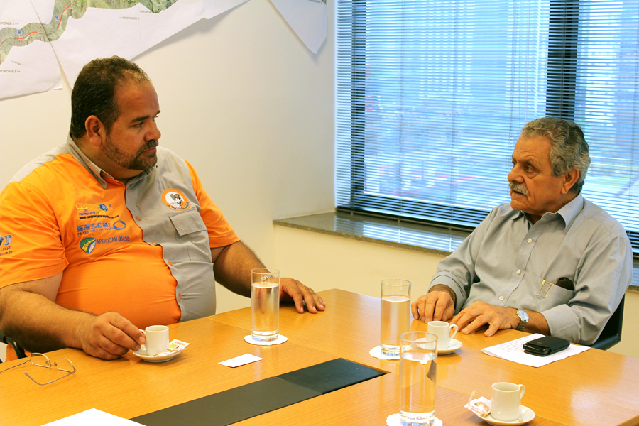 Chico da Boleia entrevista Eneo Palazzi diretor superintendente da Autopista Régis Bittencourt