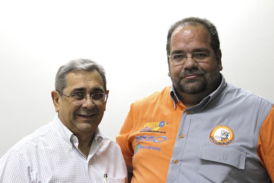 Chico da Boleia e José Machado, presidente da ATR Brasil