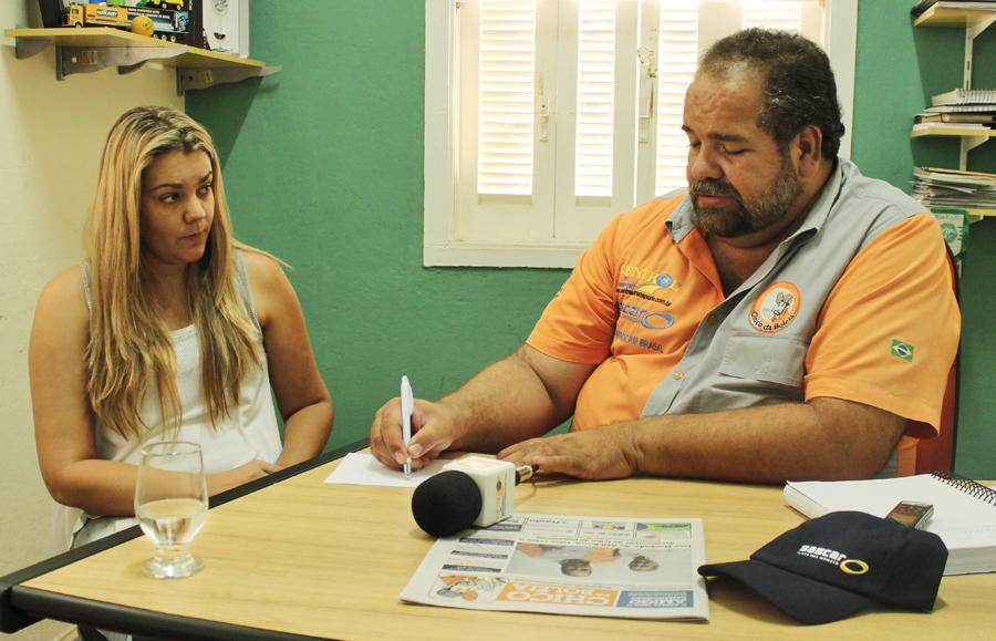 Chico da Boleia, entrevista Tânia Rampim, carreteira Itapirense