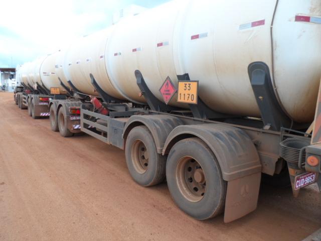 Transporte ilegal de combustível gera multa de R$ 382,3 mil a empresas