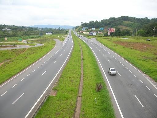 Programação de Obras da Autopista Fernão Dias 18 a 22 de março