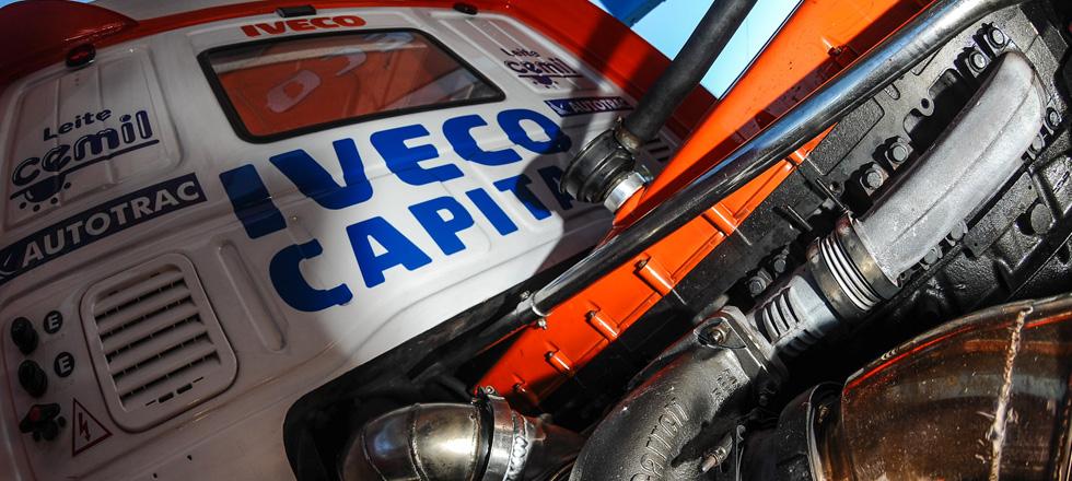 Conheça a suspensão e a cabine dos caminhões da Scuderia Iveco