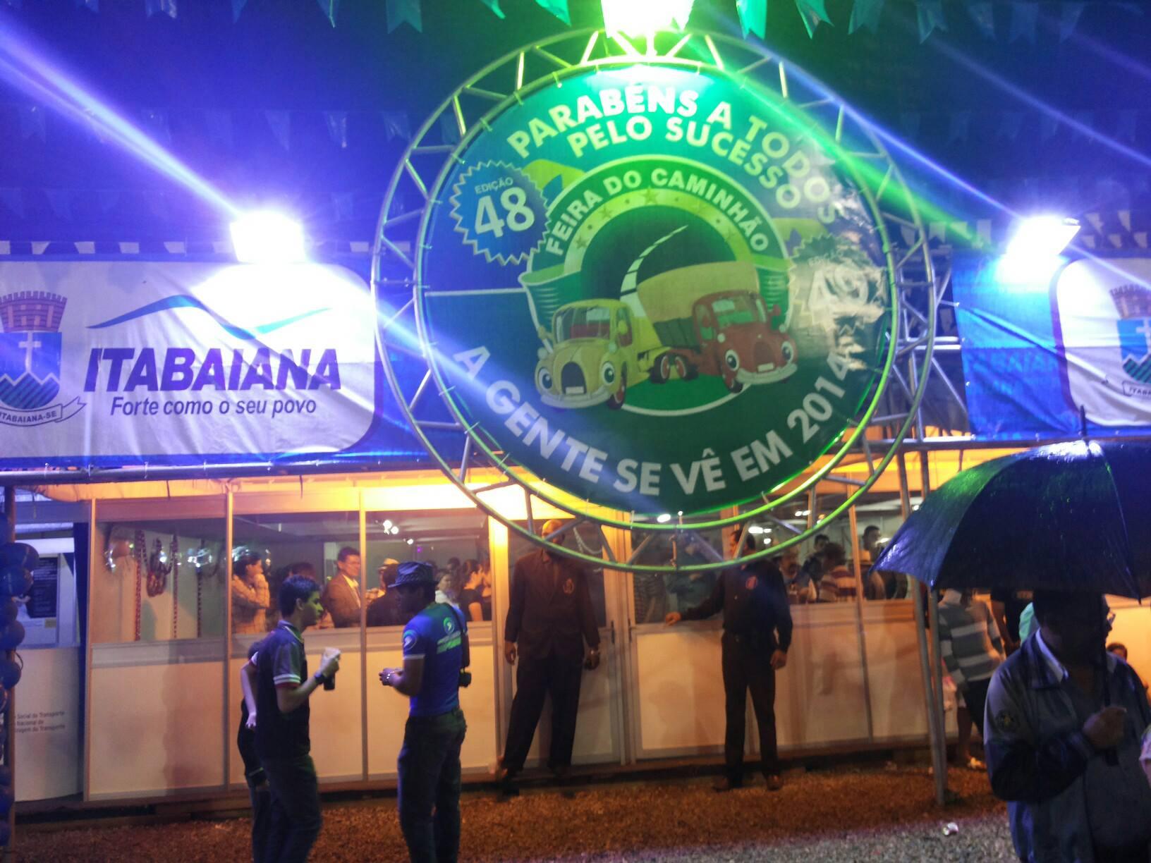 48ª Feira do Caminhão em Itabaiana 2013