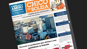 7ª Edição Baixa Mogiana Jornal Chico da Boleia Orgulho de ser caminhoneiro