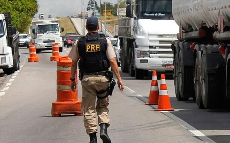 PRF registra redução no número de acidentes no feriado de Corpus Christi