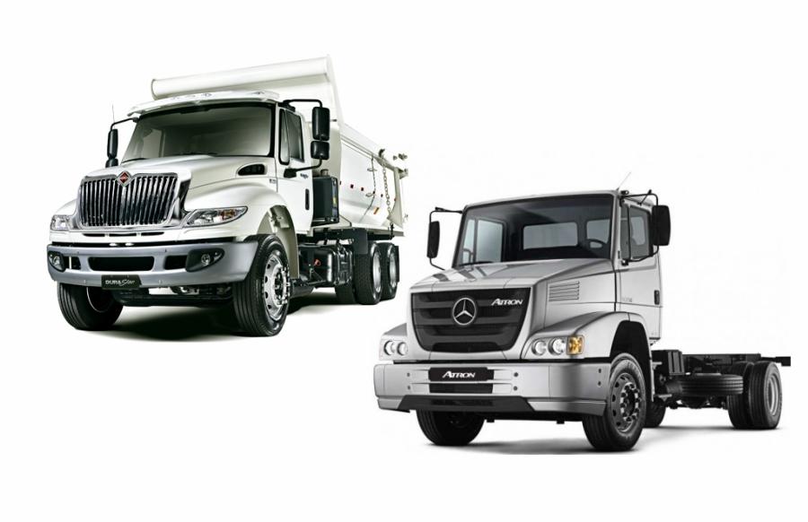 International e Mercedes-Benz entregarão 3.707 caminhões ao governo