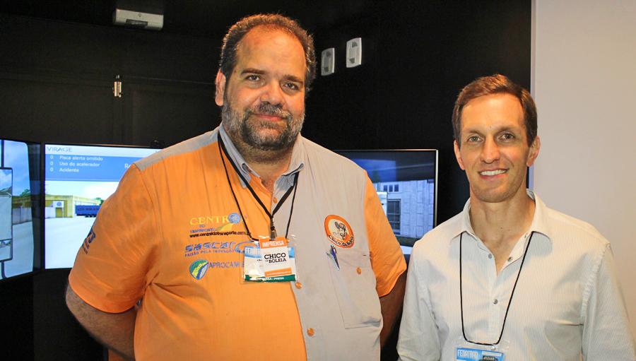 19ª Fenatran – Luciano Burti lança simulador móvel para motoristas