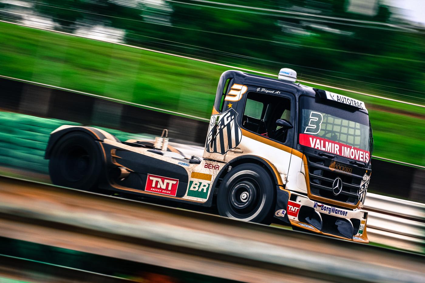 Brasília definirá o campeão brasileiro de Fórmula Truck