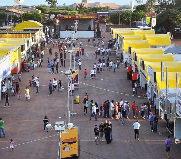 Rondonópolis recebe a 5ª Feira do Caminhoneiro