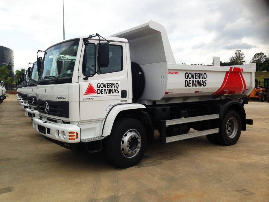 Mercedes vende 357 caminhões a Minas Gerais