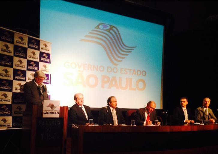 Governador Geraldo Alckmin sanciona Lei de combate à receptação de carga