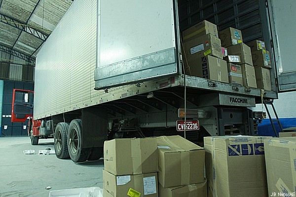 SP registra 771 casos de roubo de cargas em janeiro