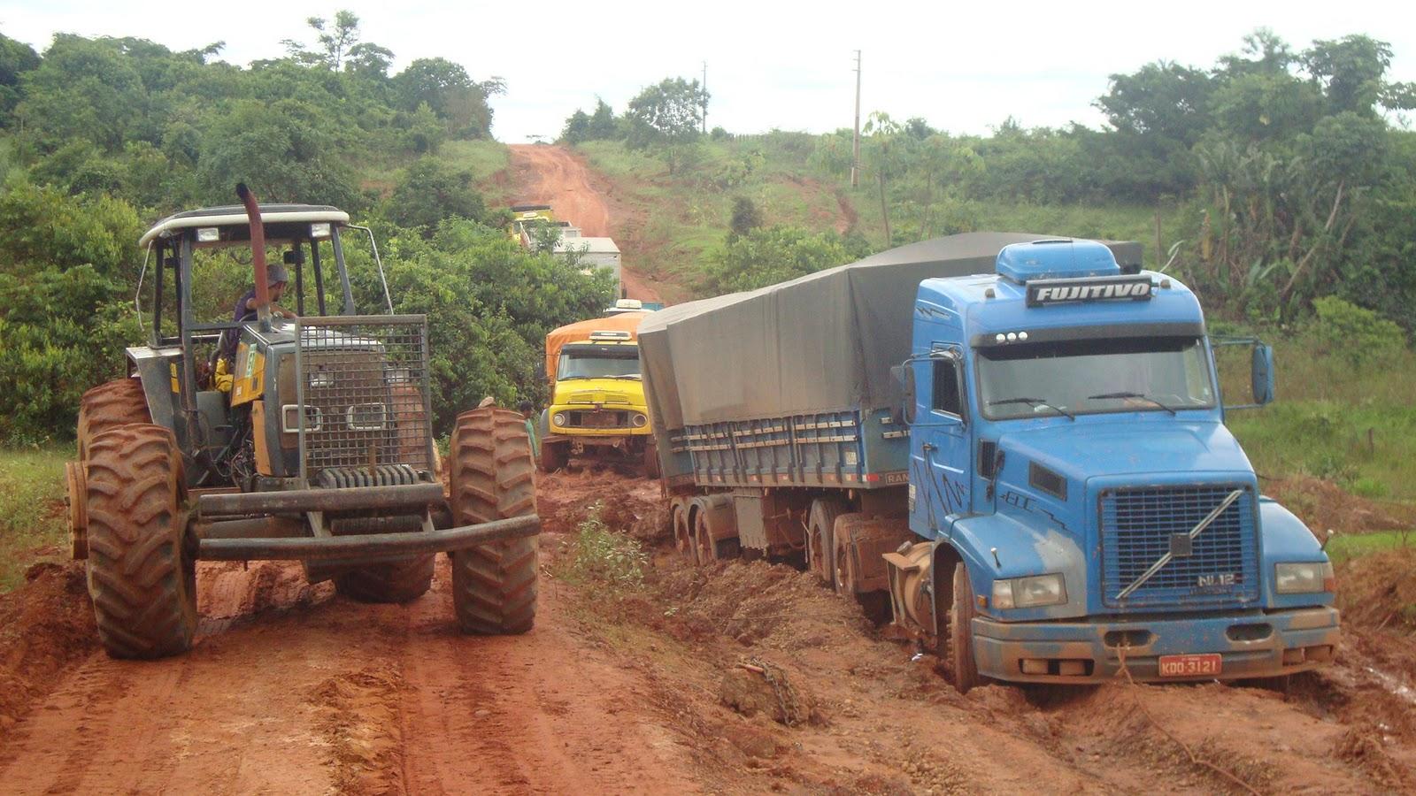 Condições de estradas ampliam perdas na produção em MT