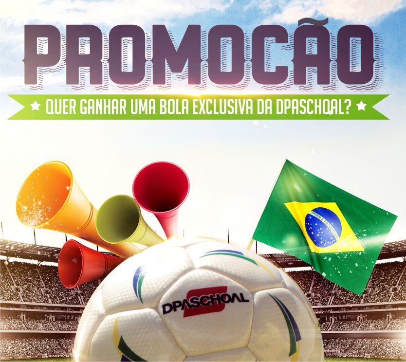 Promoção – Quer ganhar uma bola exclusiva da Dpaschoal e do Chico da Boleia?