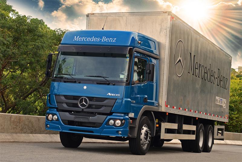 Mercedes-Benz quer manter exportação mesmo quando mercado interno crescer