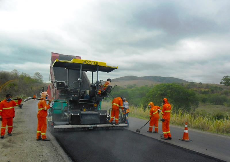 Recuperação da BR-116, na Bahia: foco em qualidade, eficiência e baixo impacto ambiental