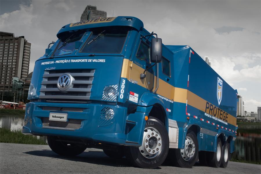 Constellation carro-forte chega com maior capacidade de carga do mercado