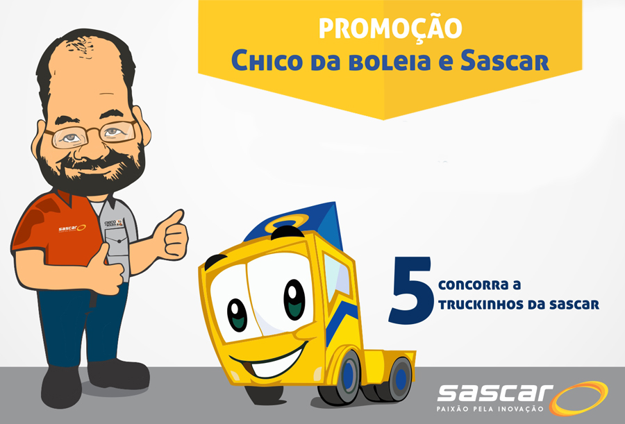 Pariticipe – 5 Truckinhos da Sascar!