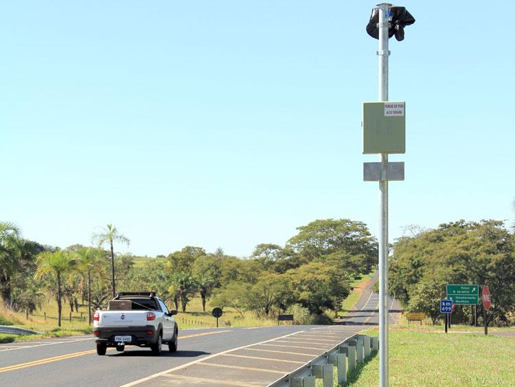 Rodovias ganham 22 radares em setembro