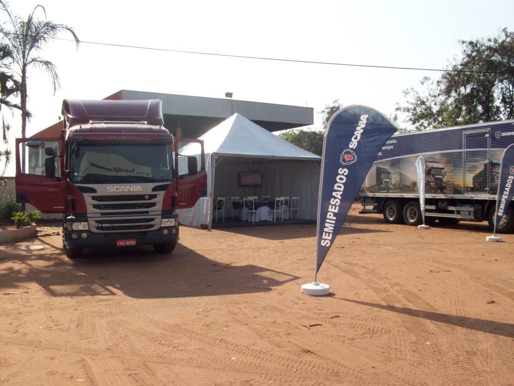 Sucesso na terceira edição do Circuito Semipesado Scania