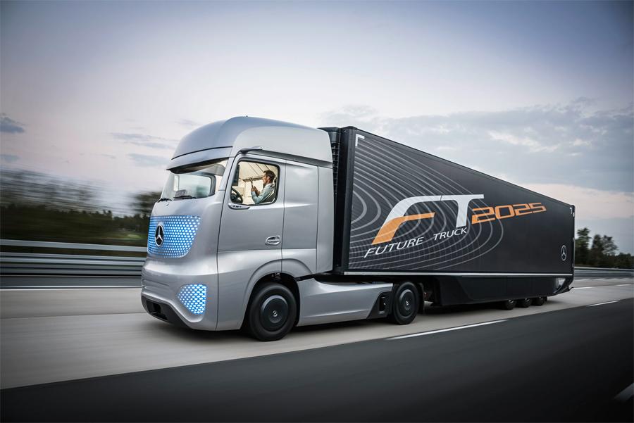Mercedes-Benz Future Truck – o caminhão do futuro faz sua estreia mundial no IAA