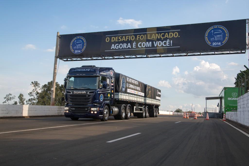 Contagem (MG) sedia a penúltima etapa regional do Melhor Motorista de Caminhão do Brasil