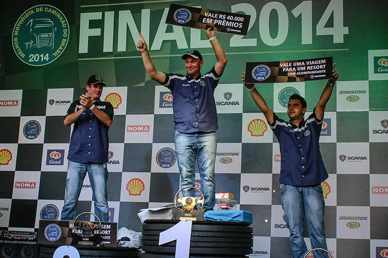 Eliardo Locateli vence a Competição de Melhor Motorista de Caminhão do Brasil