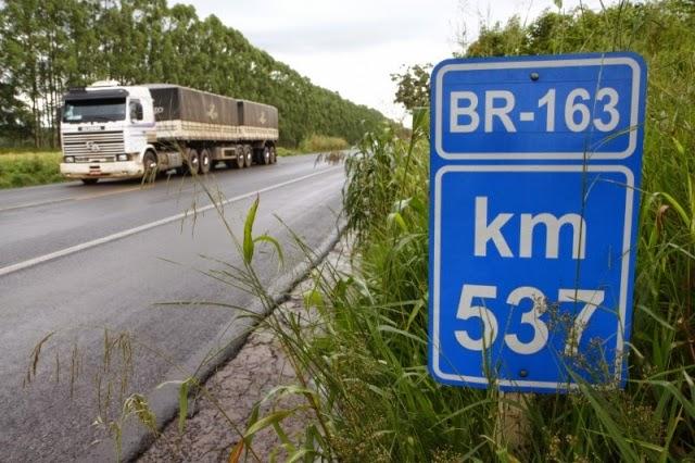MPF e MPT exigem locais para descanso de caminhoneiros na BR 163