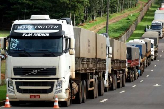 Radicalismo de caminhoneiros preocupa PRF em protestos pelo Estado