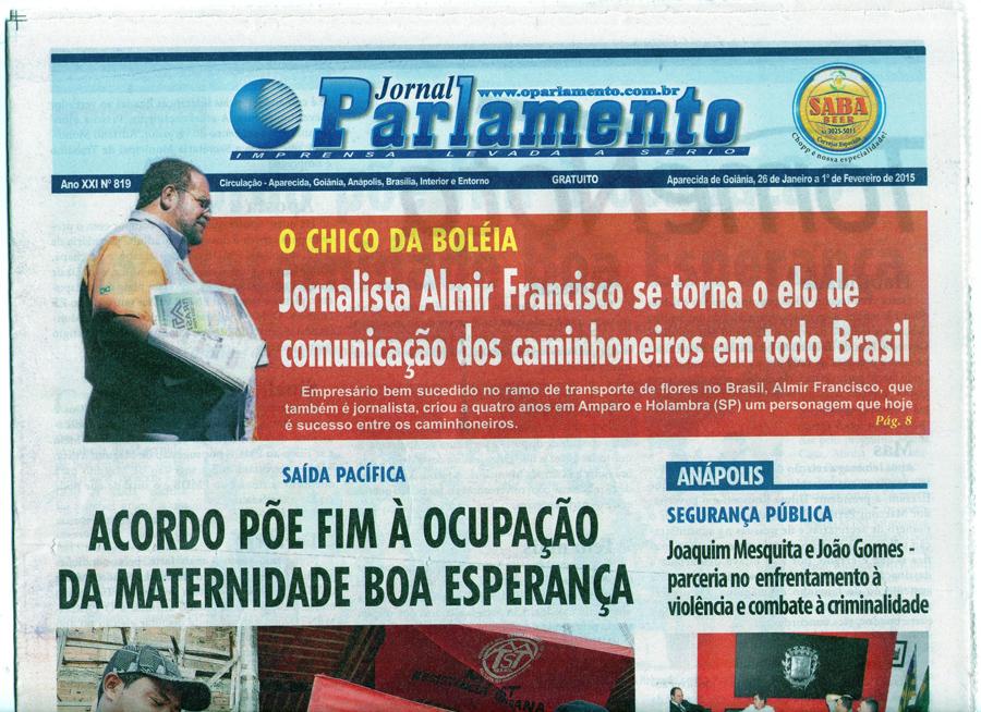 Chico no Jornal o Parlamento