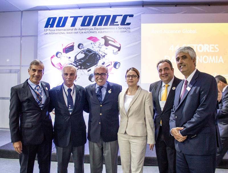 Entidades apontam cenário positivo para setor autopeças na abertura da Automec 2015