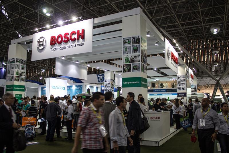 Bosch destaca sua ampla linha de produtos na 12ª Automec