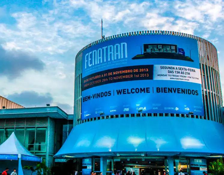 Maior evento de Transporte de Carga Rodoviário da América Latina, Fenatran, acontece de 9 a 13 de novembro, em São Paulo