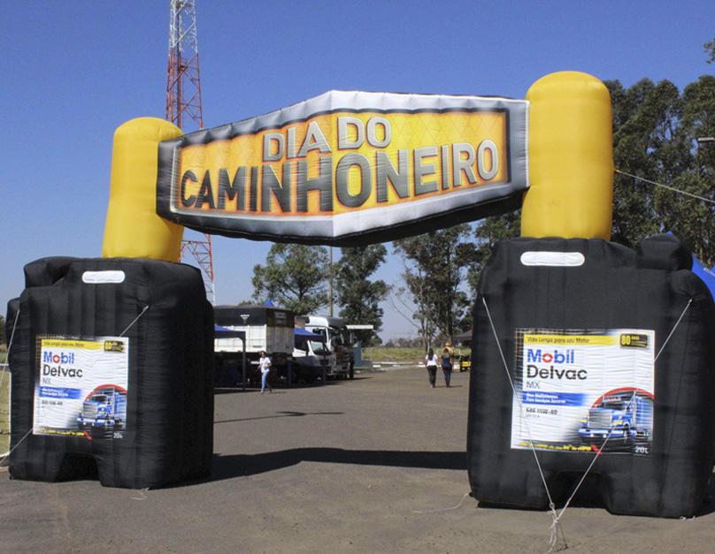 DIA DO CAMINHONEIRO Mobil Delvac acontece hoje, em Porto Velho
