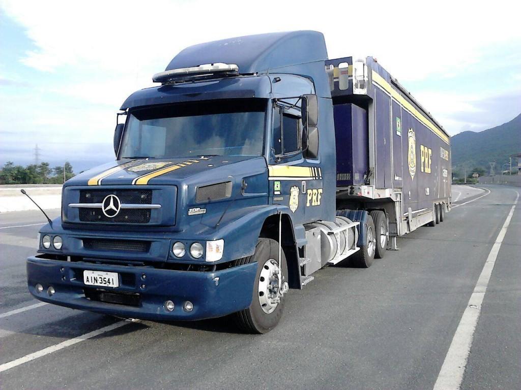 Caminhão da PRF com sala de cinema chega hoje no  Paraná