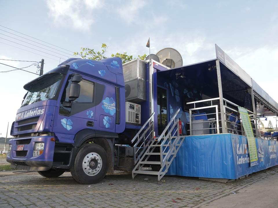 Caminhão da Sorte chega à Itabaiana (SE)
