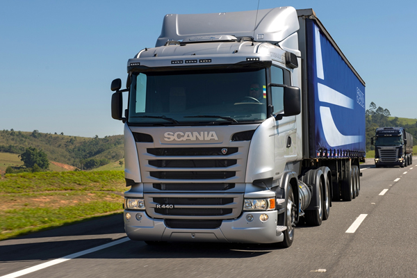 Scania R 440 é o pesado mais emplacado do quadrimestre